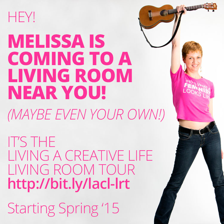 Living A Creative Life Living Room Tour